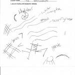 Teenager's sketch
